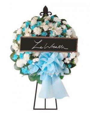 พวงหรีดดอกไม้สด ราคาไม่เกิน 1,500 บาท LW006 – อัมพร 6